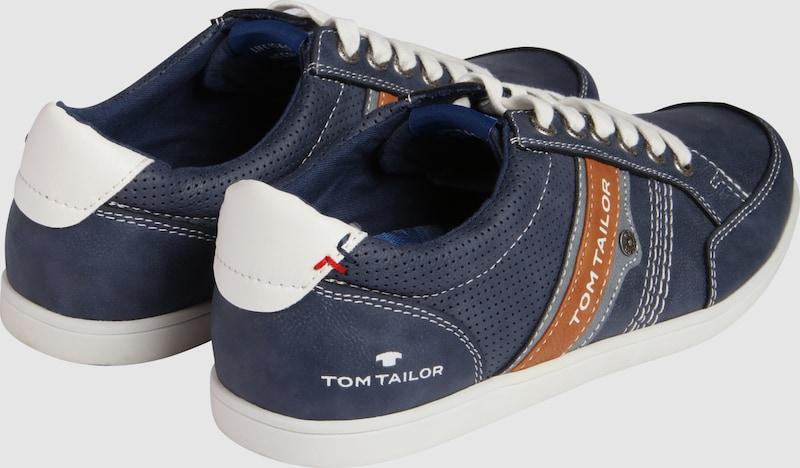 TOM TAILOR Sneaker aus Lederimitat