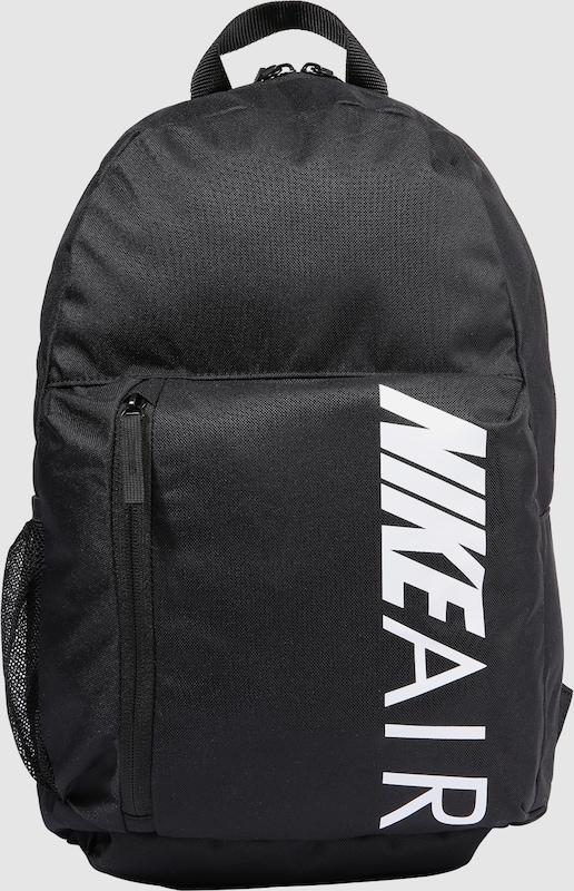 6dec32db63c Nike Sportswear Rugzak 'Y NK ELMNTL BKPK - GFX NK AIR' in Zwart / Wit |  ABOUT YOU