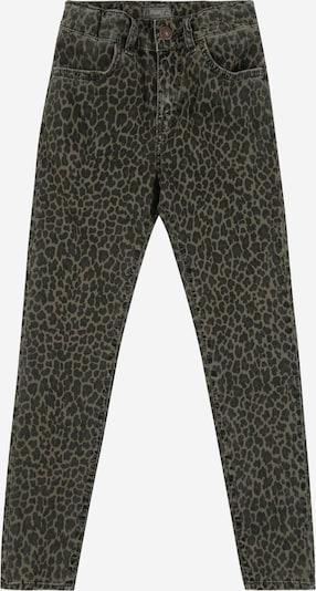 LTB Jeans 'LONIA G' in grün / black denim, Produktansicht