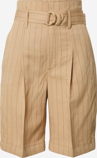 CINQUE Chino hlače 'CISHORTY' | bež / črna barva, Prikaz izdelka