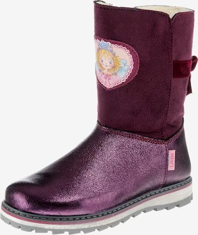 SPIEGELBURG Winterstiefel 'Prinzessin Lillifee' in lila / weinrot, Produktansicht
