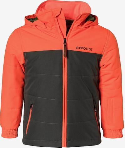 PROTEST Jacke in orange / schwarz, Produktansicht
