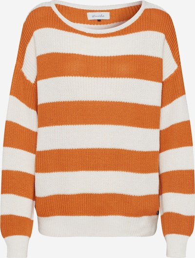 Megztinis 'BSPIMKA L PU' iš Blend She , spalva - ruda / balta, Prekių apžvalga