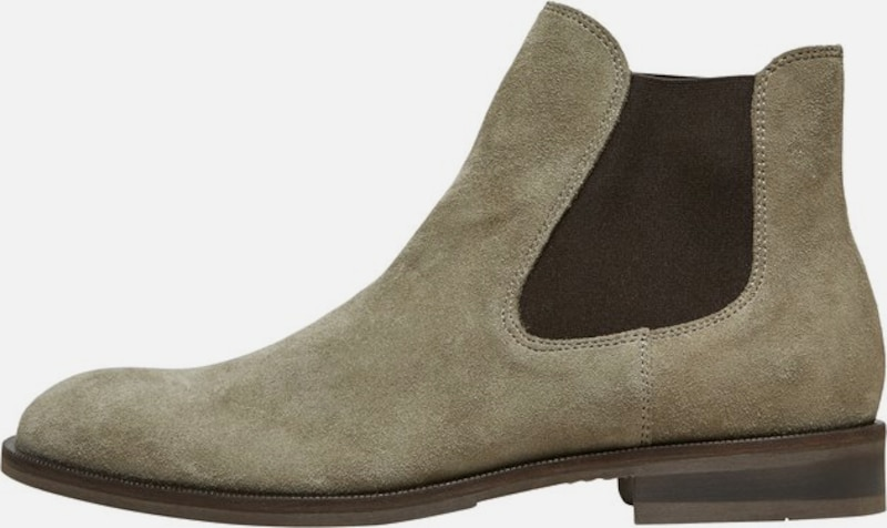 SELECTED HOMME Chelsea Boots in beige / braun, Produktansicht