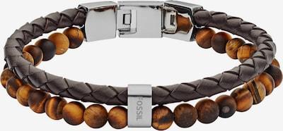 FOSSIL Armband in karamell / schoko, Produktansicht