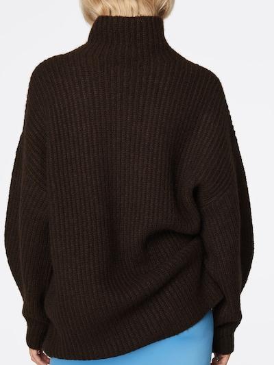 LeGer by Lena Gercke Sweter oversize 'Amelia' w kolorze brązowym: Widok od tyłu