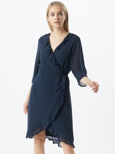 VILA Kleid 'MILINA' in petrol, Modelansicht
