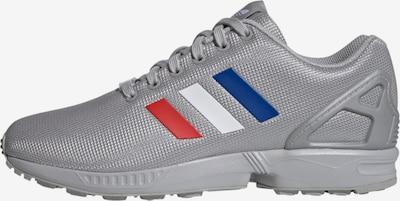ADIDAS ORIGINALS Sneaker 'ZX Flux' in blau / grau / rot / weiß, Produktansicht