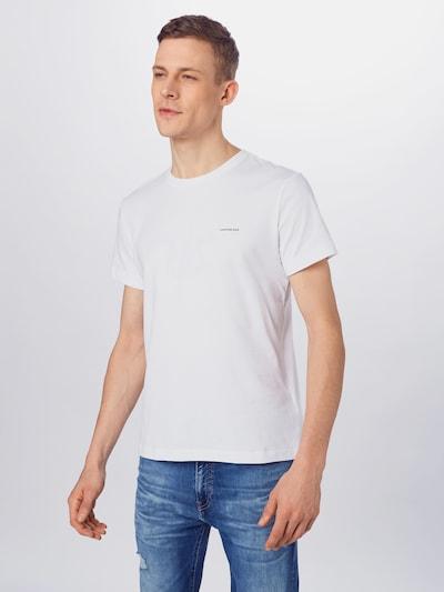 fekete / fehér Calvin Klein Jeans Póló, Modell nézet