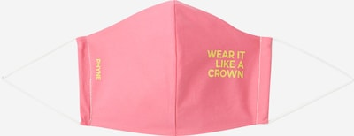 PHYNE Stoffmaske 'Wear it like a crown' in pink, Produktansicht