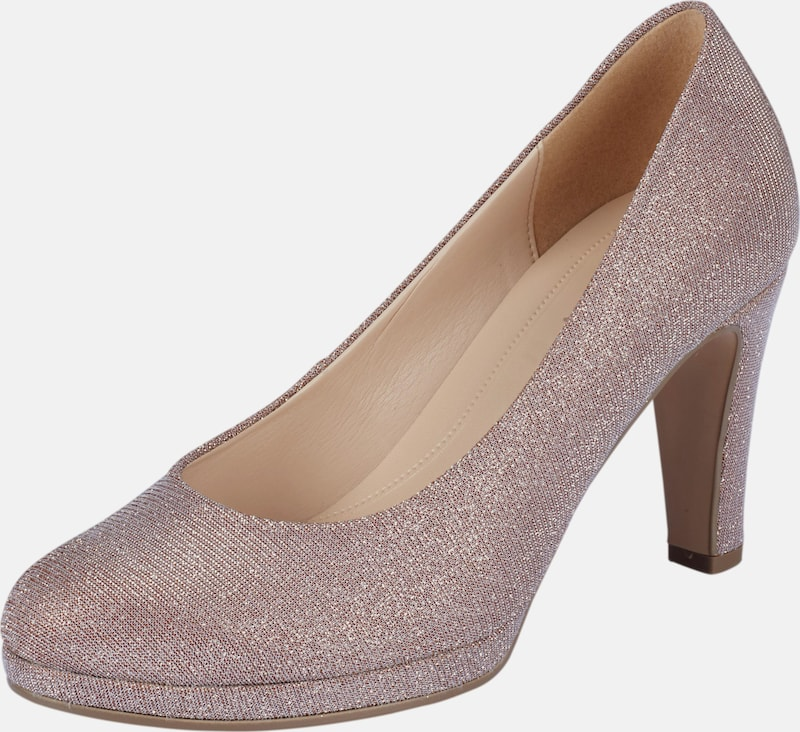 Gabor Pumps With Gloss Effect