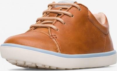 CAMPER Sneaker 'Pursuit' in cognac: Frontalansicht