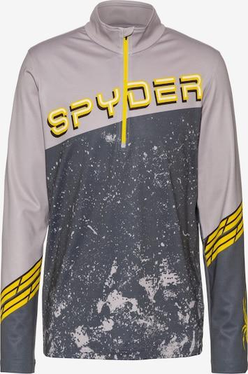 SPYDER Funktionsshirt 'Mandate' in grau, Produktansicht