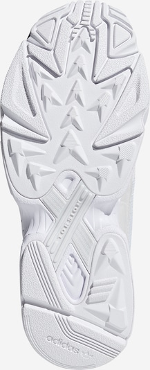 ADIDAS ORIGINALS Sneaker 'Falcon' in hellgrau / weiß: Ansicht von unten
