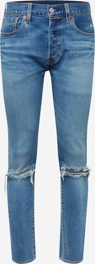 Jeans '501SLIMTAPER' LEVI'S pe denim albastru: Privire frontală