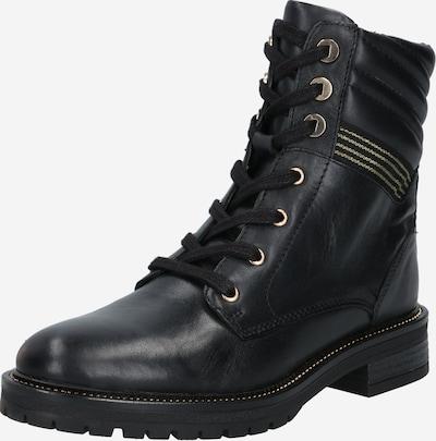 Suvarstomieji kulkšnis dengiantys batai iš PS Poelman , spalva - Auksas / juoda, Prekių apžvalga