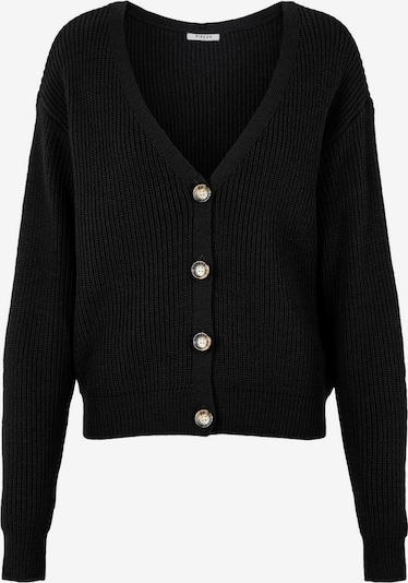 PIECES Knit cardigan in black, Item view