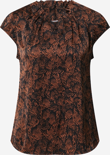 COMMA Blouse in brown / black, Item view