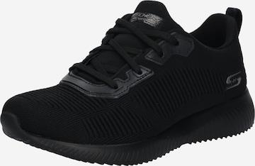 SKECHERS Sneakers 'FOAMBOBS SQUAD - TOUGH TALK' in Black