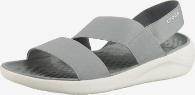 Crocs Komfort-Sandalen in grau, Produktansicht