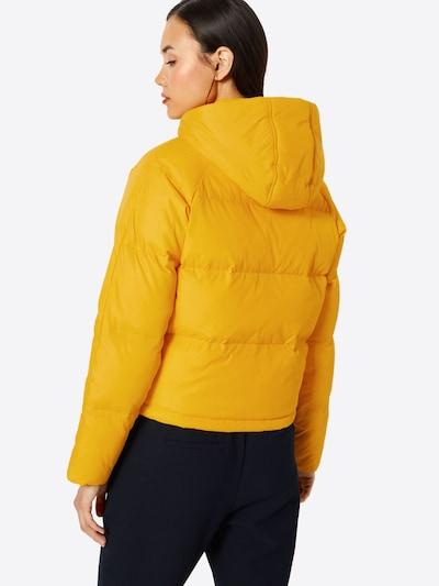 ABOUT YOU Veste d'hiver 'Jara' en jaune: Vue de dos