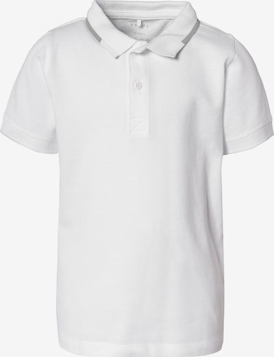 NAME IT Poloshirt in weiß, Produktansicht