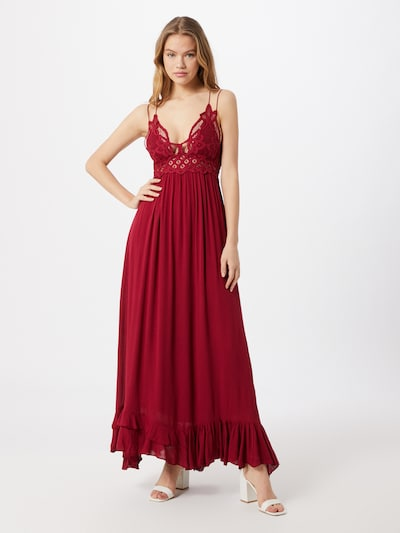 Free People Kleid 'ADELLA' in rot, Modelansicht