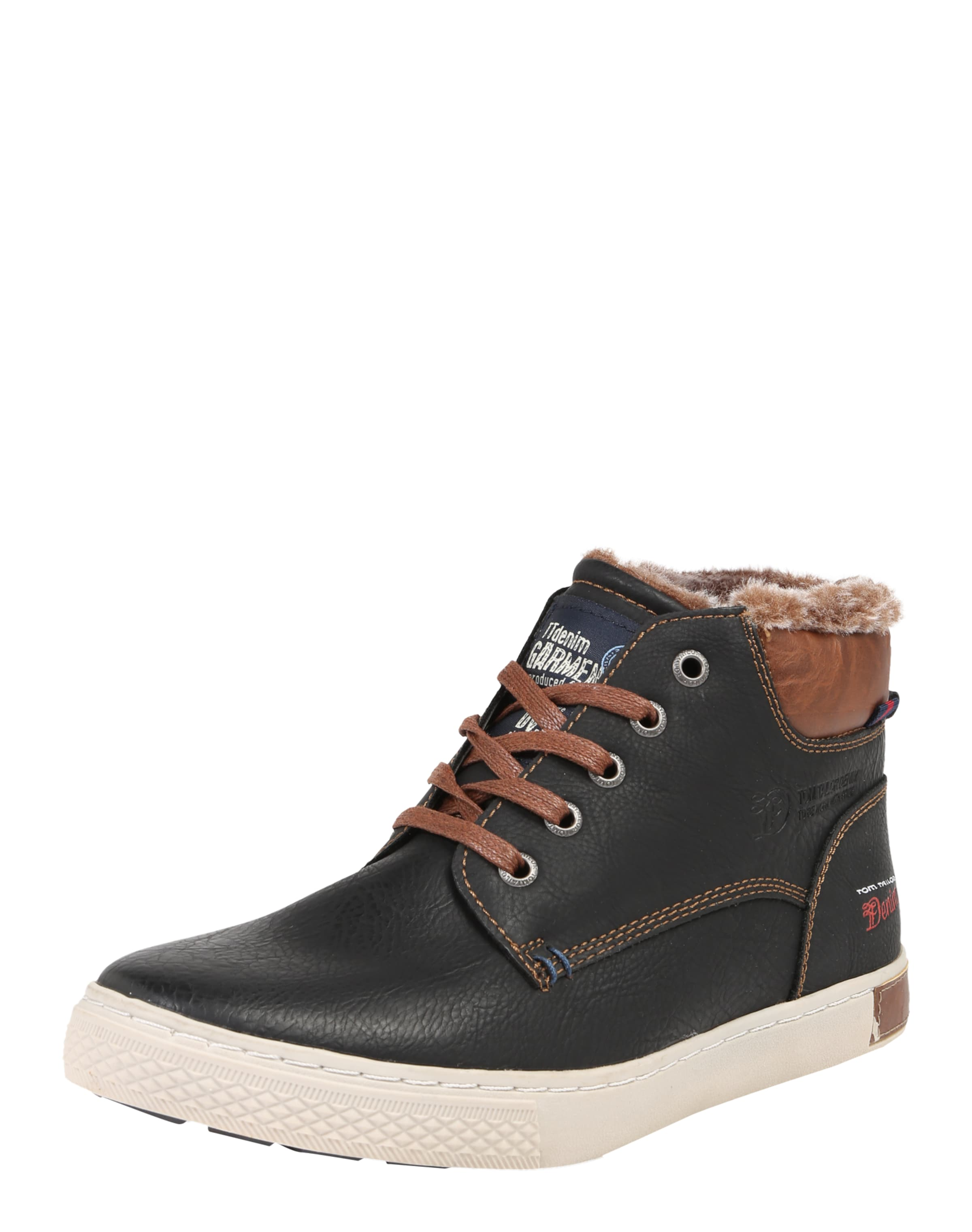 TOM TAILOR Sneaker High mit Webpelzfutter