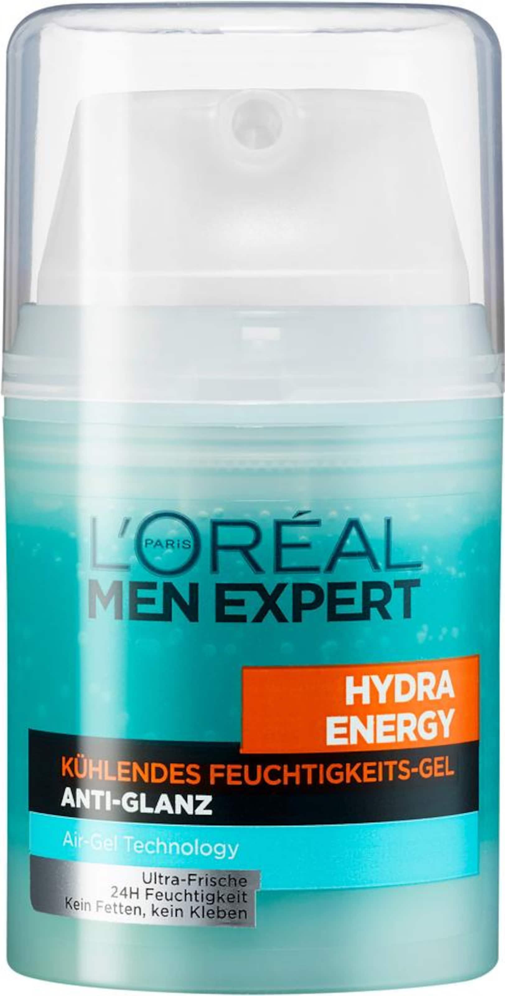 Men Energy AquaOrange Kühlendes L'oréal In Paris 'hydra Feuchtigkeitsgel Anti Expert glanz«'männerpflege Schwarz UzMqSVp