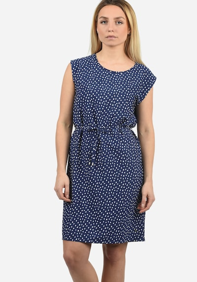 Blend She Blusenkleid 'Amaia' in blau / weiß, Modelansicht