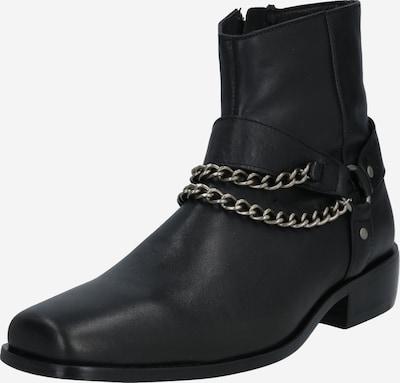 tigha Stiefel 'Adriano' in schwarz / silber, Produktansicht