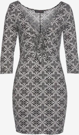 MELROSE Shirtkleid in schwarz / weiß, Produktansicht