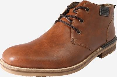 RIEKER Schnürschuh in karamell, Produktansicht