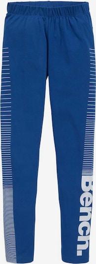 BENCH Leggings in royalblau / weiß, Produktansicht