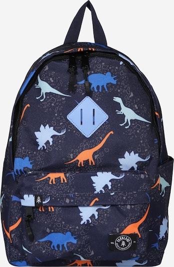PARKLAND Rucksack 'Bayside Dino' in blau / mischfarben, Produktansicht