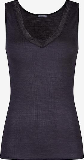 HUBER Tank-Top 'Woolen Elegance' in aubergine, Produktansicht