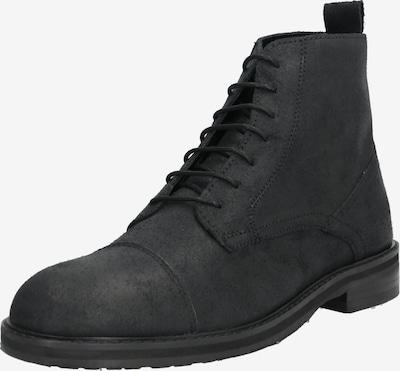 Hudson London Stiefel 'ROWAN TOE CAP BOOT' in schwarz, Produktansicht