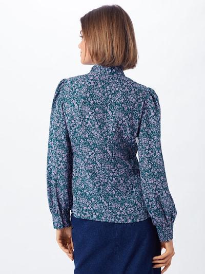 Palaidinė 'PEONIE' iš Fashion Union , spalva - šviesiai mėlyna / rožių spalva: Vaizdas iš galinės pusės