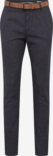 Pantaloni eleganți TOM TAILOR DENIM pe negru: Privire frontală