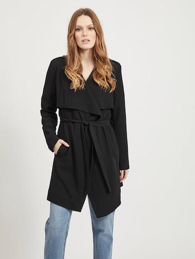 OBJECT Tussenmantel 'OBJAnnlee' in de kleur Zwart, Modelweergave