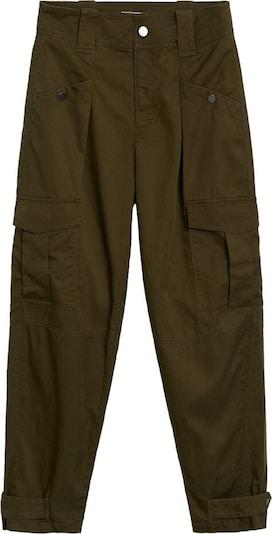 MANGO Kalhoty - khaki, Produkt