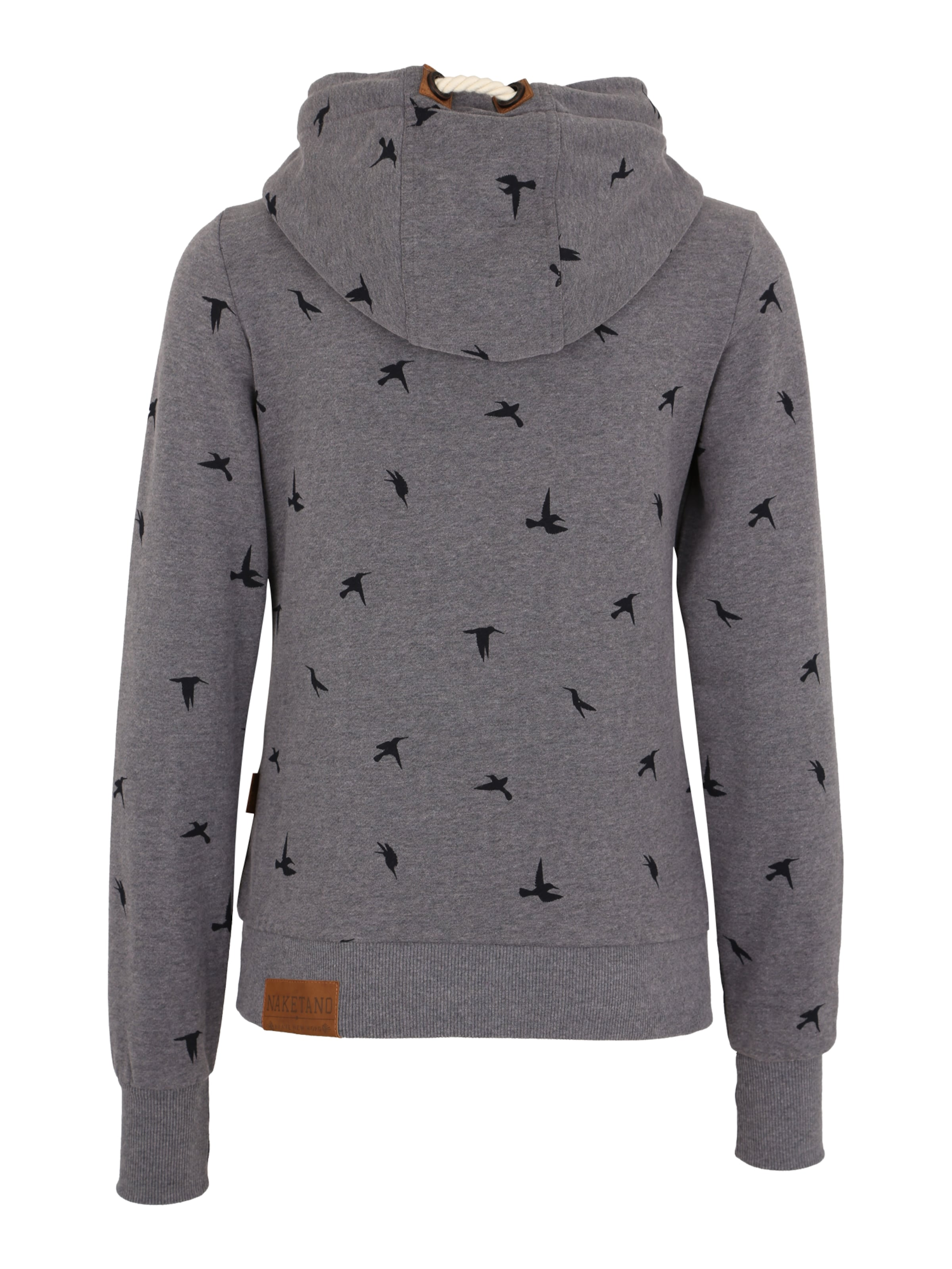 The Gap' Naketano Marron shirt NuitBleu For gris En Sweat Bleu 'go 8Ok0Pwn