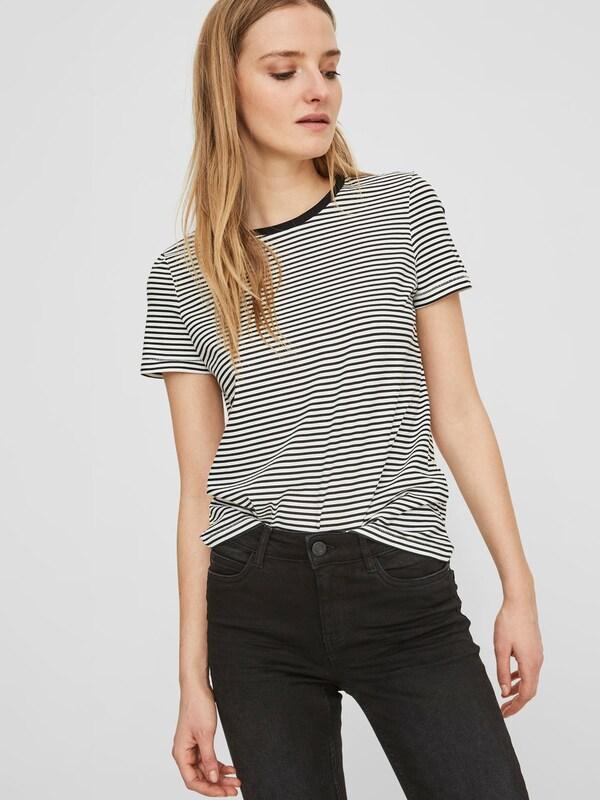 Noisy may Gestreiftes T-Shirt