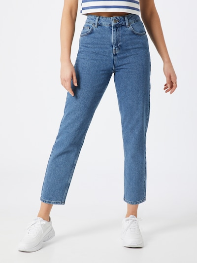 WHY7 Jeans 'DANA' in blue denim, Modelansicht