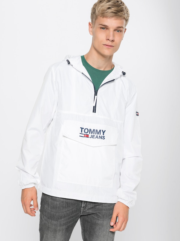 Tussenjas 'tjm Tommy DonkerblauwRood Over Wit Jeans Pop Anorak' In wOTPXZkiu