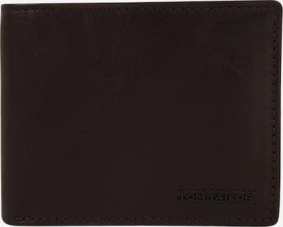 TOM TAILOR Novčanik 'Barry' u tamno smeđa: Prednji pogled