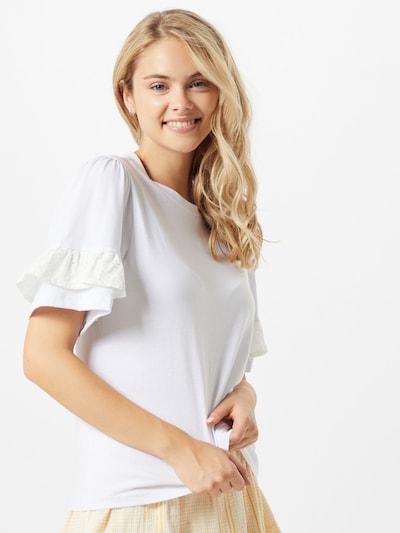Trendyol Tričko - biela: Pohľad spredu