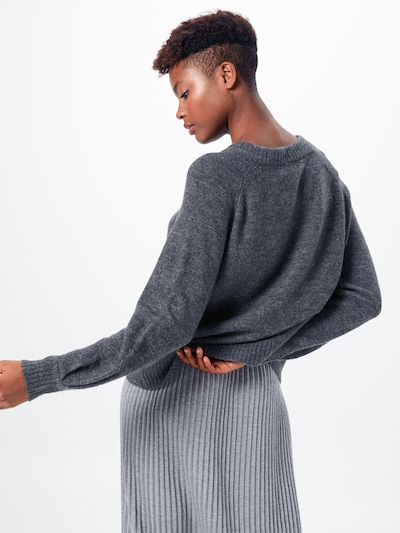 ONLY Džemperis 'MIRNA' pieejami tumši pelēks: Aizmugures skats