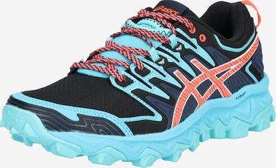 ASICS Sport-Schuhe 'Gel-Fujitrabuco 7' in aqua / dunkelblau / orange, Produktansicht
