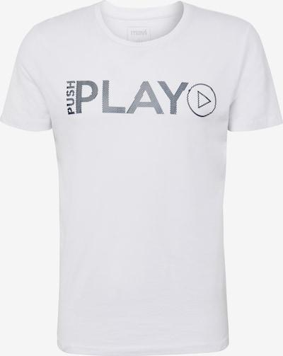 Mavi Shirt 'Play' in weiß, Produktansicht